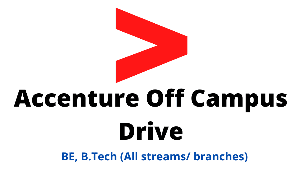 Accenture Off Campus DriveAccenture Off Campus Drive