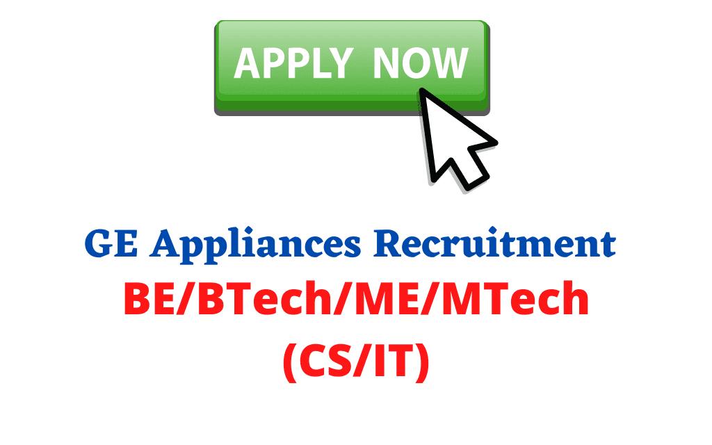 GE Appliances Recruitment