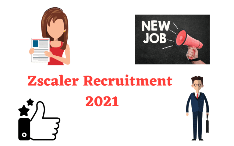 Zscaler Recruitment 2021