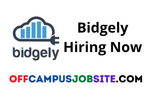 Bidgely Off Campus \ Bidgely recruitment