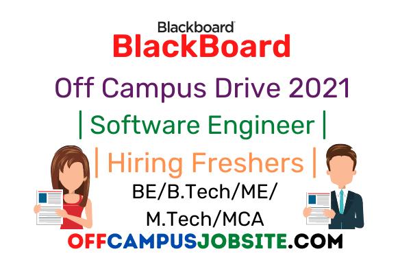 BlackBoard Off Campus Drive 2021