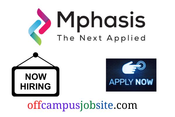 Mphasis Recruitment 2021