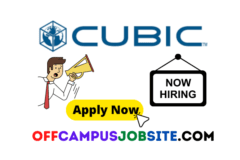 Cubic Corporation Off Campus Drive 2021 for Associate System Administrator | BE/B.Tech/B.Sc/BCA Graduates Apply Now |