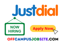 Justdial Off Campus Drive 2021