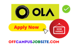 Ola Cabs Off Campus Drive for Fresher | Ola Recruitment