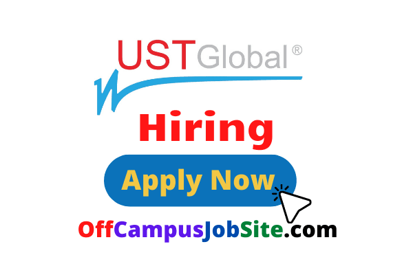 UST Global Off Campus Drive 2021