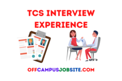 Tcs Interview Experience