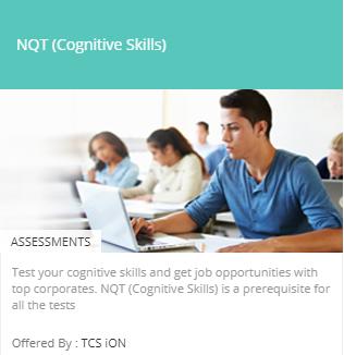 TCS National Qualifier Test - TCS iON Digital Learning Hub