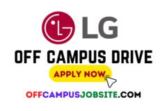 LG India Off Campus Drive